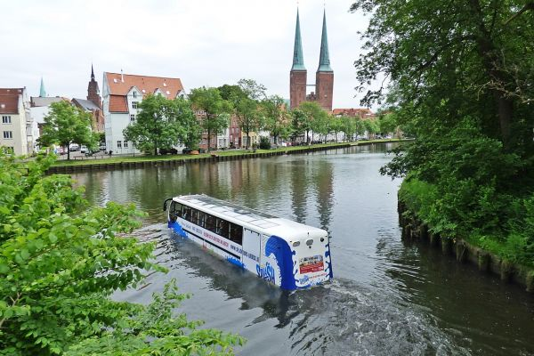 Amphibious Tour in Lübeck